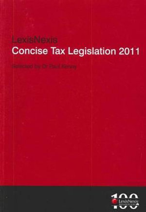 Cover of Concise Tax Legislation 2011
