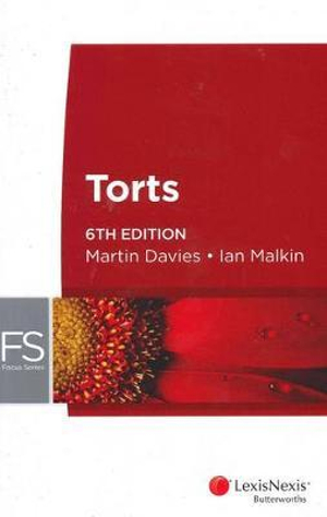 Cover of Focus: Torts - 6th Edition
