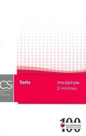 Cover of LexisNexis Case Summaries: Torts - 7th Edition