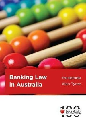 Cover of Banking Law in Australia - 7th Edition