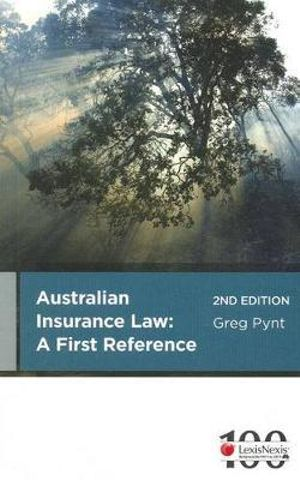 Cover of Insurance Law: A First Reference - 2nd Edition