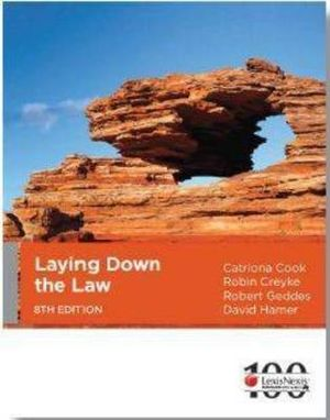 Cover of Laying Down the Law - 8th Edition