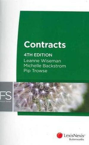 Cover of Focus: Contract Law - 4th Edition