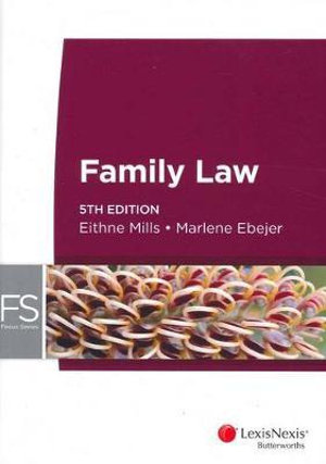 Cover of Focus Series: Family Law, 5th Edition
