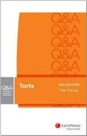 Cover of Torts