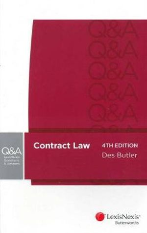 Cover of LexisNexis Questions and Answers: Contract Law - 4th edition