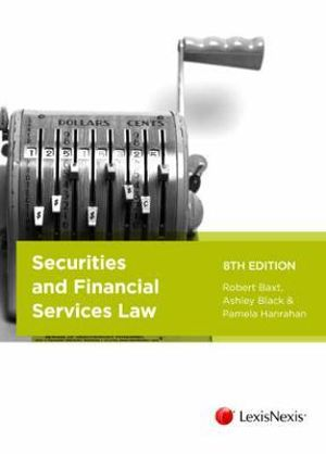 Cover of Securities and Financial Services Law, 8th Edition