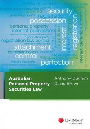 Cover of Australian Personal Property Securities Law