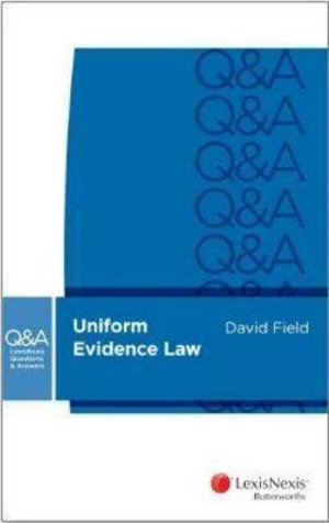 Cover of LexisNexis Questions and Answers: Uniform Evidence Law