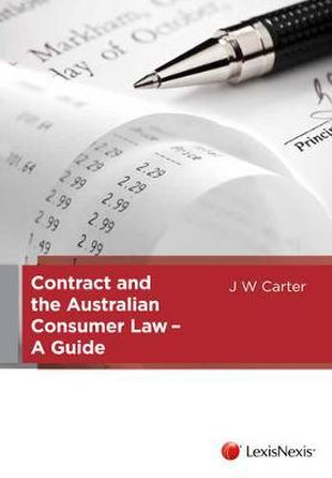 Cover of Contract and the Australian Consumer Law