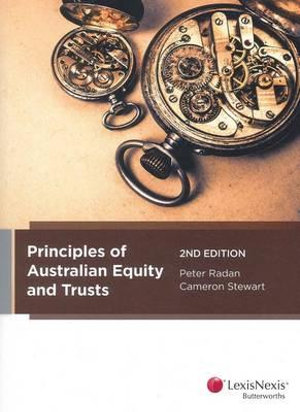 Cover of Principles of Australian Equity & Trusts, 2nd Edition