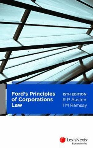 Cover of Ford's Principles of Corporations Law, 15th Edition