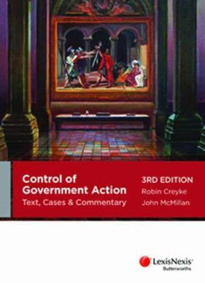 Cover of Control of Government Action: Text, Cases & Commentary - 3rd Edition