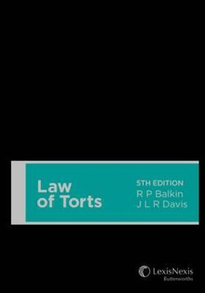 Cover of Law of Torts