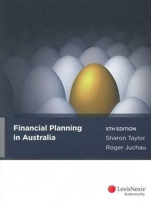 Cover of Financial Planning in Australia - 5th Edition