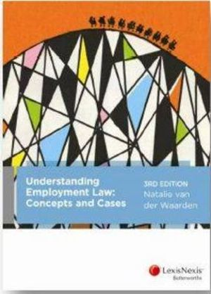 Cover of Understanding Employment Law: Concepts and Cases, 3rd edition