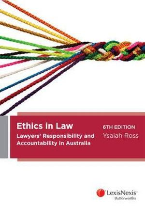 Cover of Ethics in Law