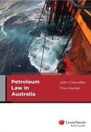 Cover of Petroleum Law in Australia
