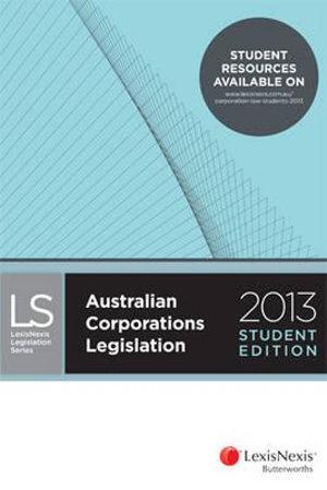 Cover of LexisNexis Butterworths Australian Corporations Legislation
