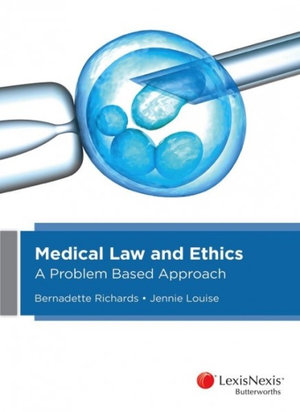 Cover of Medical Law and Ethics