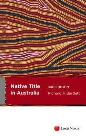 Cover of Native Title in Australia