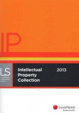 Cover of LexisNexis Intellectual Property Collection 2012-13