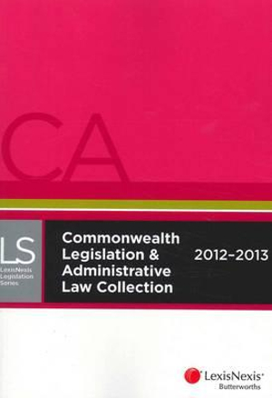 Cover of LexisNexis Commonwealth Legislation and Administrative Law Collection