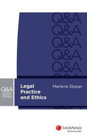 Cover of Legal Practice and Ethics