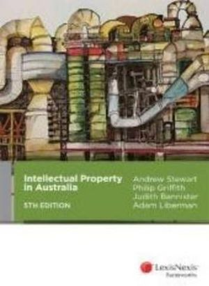Cover of Intellectual Property in Australia