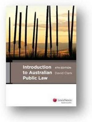Cover of Introduction to Australian Public Law
