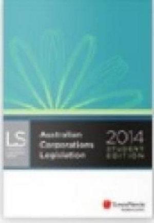 Cover of Australian Corporations Legislation 2014