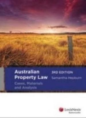 Cover of Australian Property Law