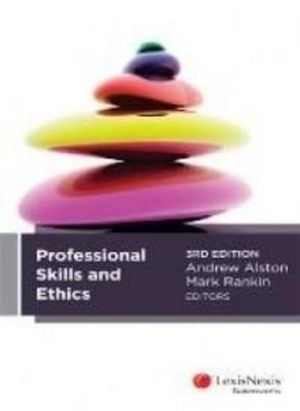 Cover of Professional Skills and Ethics