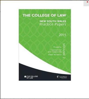 Cover of The College of Law