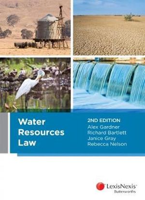 Cover of Water Resources Law, 2nd Edition