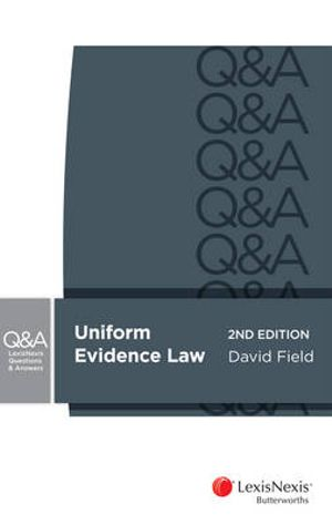 Cover of Evidence for Common Law States