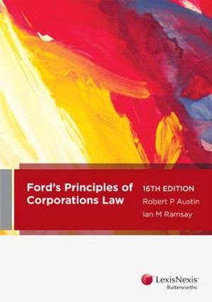 Cover of Ford, Austin and Ramsay's Principles of Corporations Law