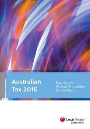 Cover of Australian Tax, 2015