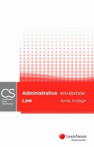 Cover of Administrative Law