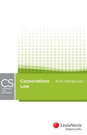 Cover of LexisNexis Case Summaries Corporations Law