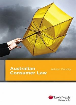 Cover of Australian Consumer Law