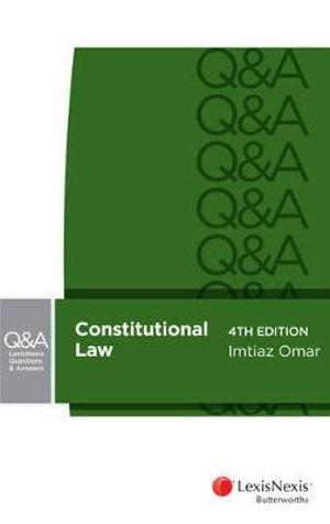 Cover of LexisNexis Questions and Answers - Constitutional Law, 4th Edition
