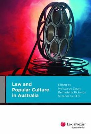 Cover of Law and Popular Culture in Australia