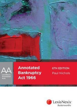 Cover of Annotated Bankruptcy Act 1966