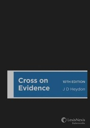 Cover of Cross on Evidence