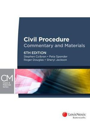 Cover of Civil Procedure OÂe Commentary and Materials, 6th Edition