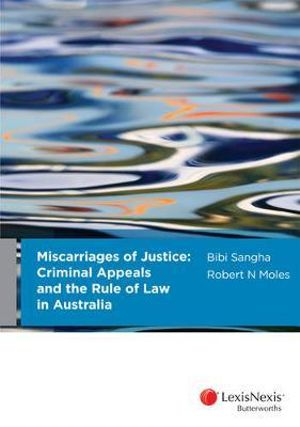 Cover of Miscarriages of Justice