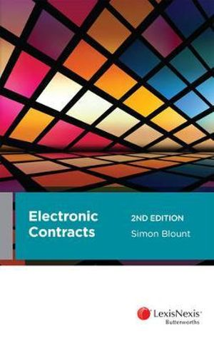 Cover of Electronic Contracts, 2nd Edition
