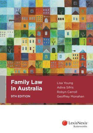 Cover of Family Law in Australia
