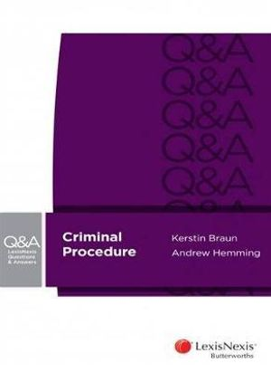 Cover of Criminal Procedure